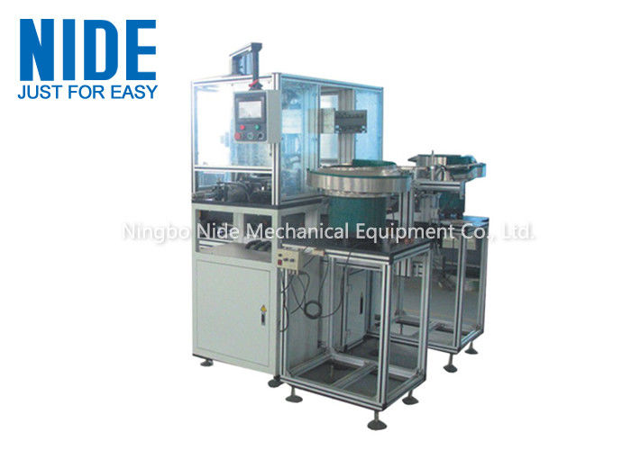 Customized Armature Coil Winding Machine / Plastic End Plate Insertion Machine
