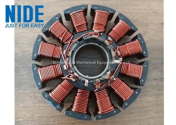 Centrifugal Blower Motor Armature Winding Machine For Fresh Air Motor wire coil winding