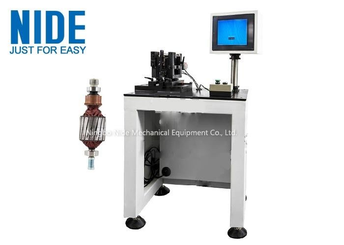 High Precision Armature Positioning Balancing Value Test Machine Automatically