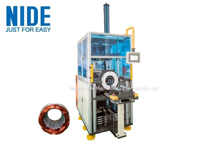 Enter And Exit Station Stator Winding Forming and shping Machine With PLC Control