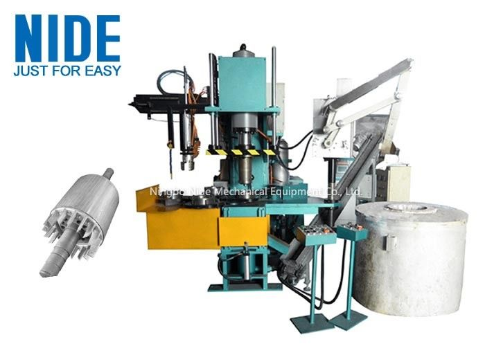 Customized Armature Aluminum Liquid Die Casting Machine Highly Efficiency