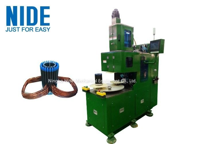 Electric Automatic Coil Winding Machine For High Slot Filling Rate Stator Winding