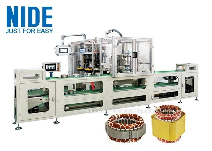 4 Stations Coil Lacer Machine Production Assembly Line 380V Voltage For Household Appliance
