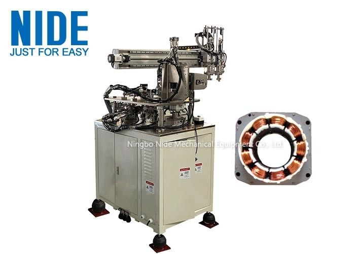 Three Needles Coil Winding Machine 380v Voltage For Brushless Motor Stator