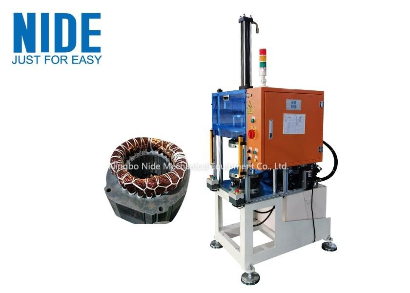 Automatic highly efficiency and qualified stator coils shape expanding and forming machine